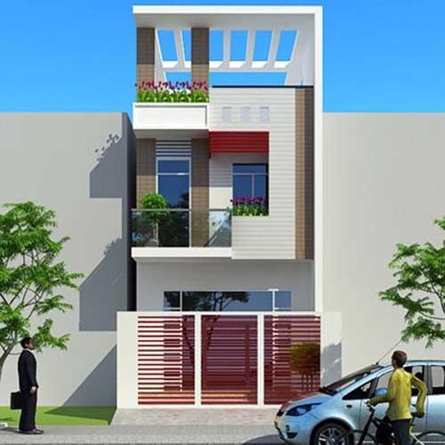 Xây nhà 3 tầng nhà anh Thái Bình Tân